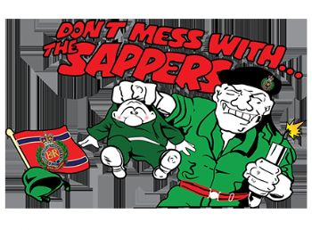 Don't Mess with the Sapper T-shirt
